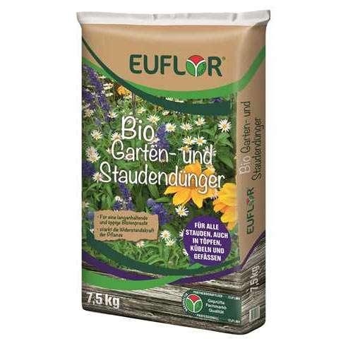 Euflor Bio Garten- und Staudendünger 7,5 Kilo Sack
