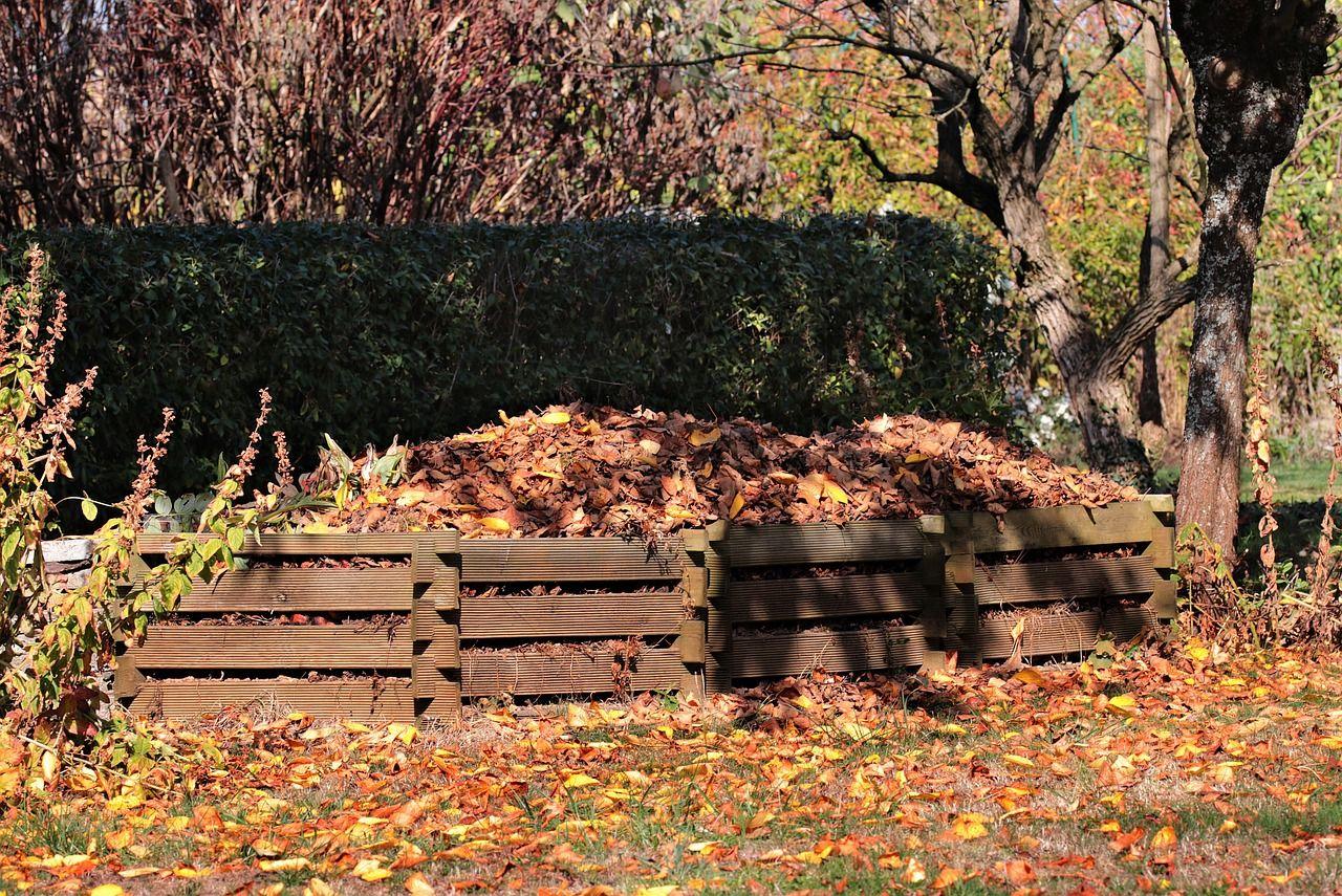 Laub Kompost