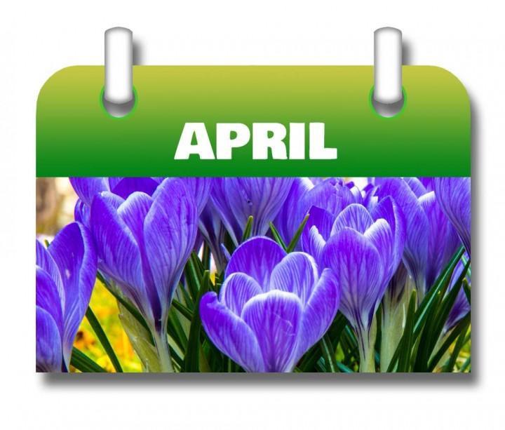 Kalender-April