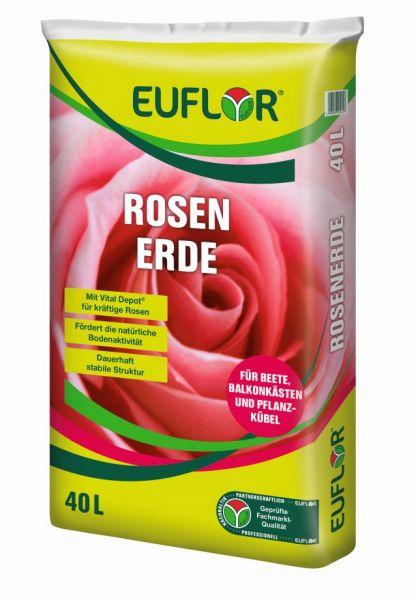 EUFLOR Rosenerde 40 Liter Sack